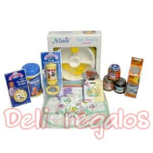 Arreglos para bebes | Canasta para bebe - Cod:MCB02