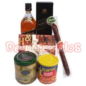 Canasta de Regalo con Whisky - Cod:MCE09