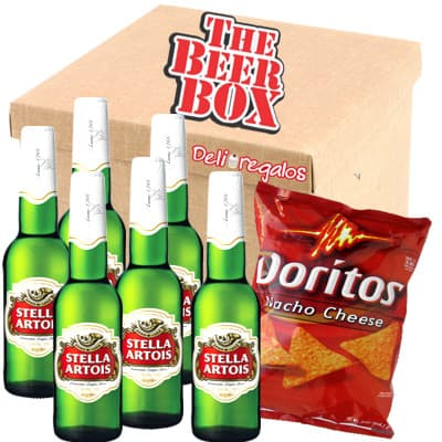 lafrutita.com - Cerveza Stella Artois - Codigo:MCE12 - Detalles: Elegante caja de regalo incluyendo: 6 cervezas Stella Artois, cada una es de 350ml. Incluye bolsa de Doritos. El presente incluye tarjeta de dedicatoria  - - Para mayores informes llamenos al Telf: 225-5120 o 476-0753.