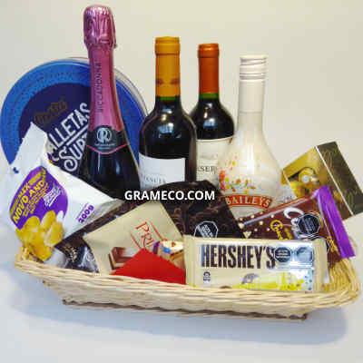 La Canasteria | Mejor opciòn en regalos, vinos, licores y productos gourmet - Cod:MCE19
