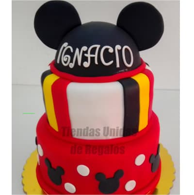 Torta Mickey Mouse - Whatsapp: 980-660044