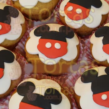Cupcakes Mickey Baby - Cod:MCK10