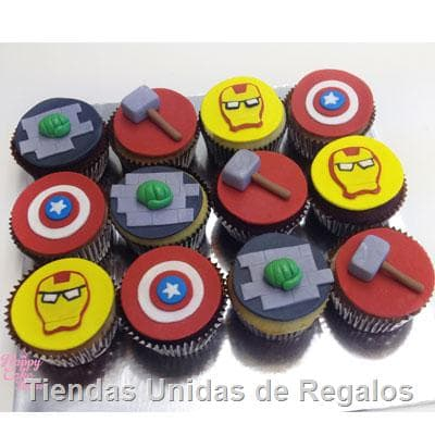 Cupcakes Avengers - Cod:MCM24
