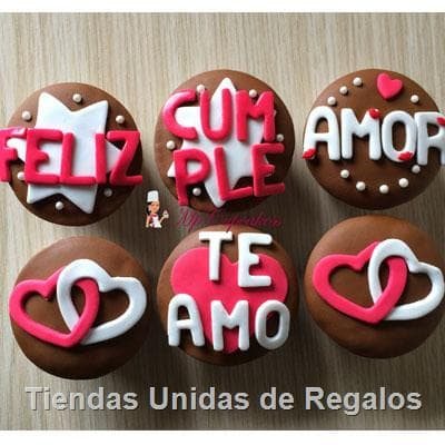 Cupcakes Cumple amor- Whatsapp: 980-660044