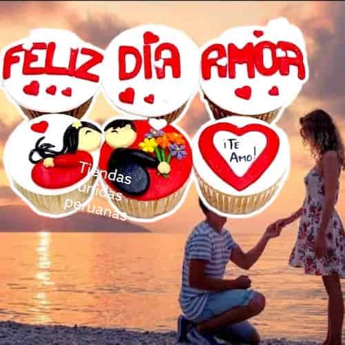 Delivery de Regalos | Regalos Delivery | Cupcakes Felia Dia amor | Cumpleaños Delivery - Cod:MCM06