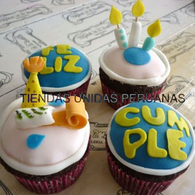 Cupcakes Feliz Cumple - Whatsapp: 980-660044