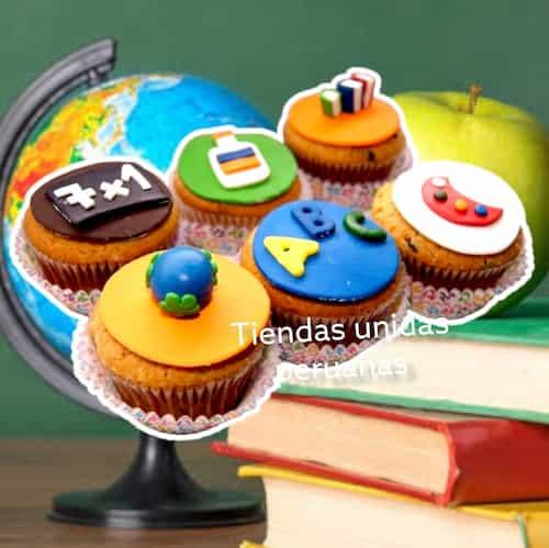 Regalos con Cupcakes | Delivery Regalos Lima - Cod:MCM12