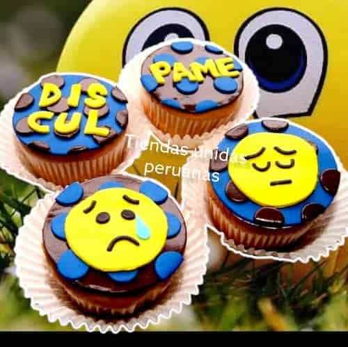 Cupcakes Disculpame | Regalos de Amor para Mujeres | Delivery de Regalos en Lima - Whatsapp: 980-660044