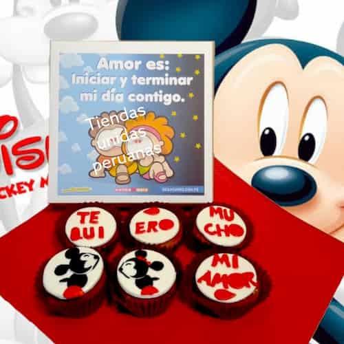 Regalos Delivery | Cupcakes Te Quiero Amor - Cod:MCM20