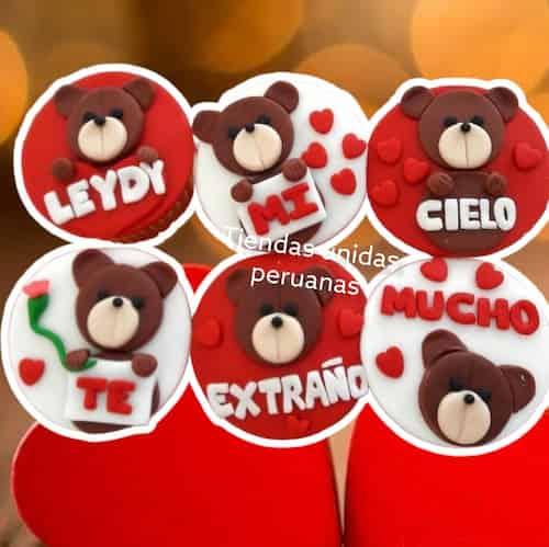 Regalos de Cumpleaños para mujeres Delivery | Cupcakes de feliz Cumpleaños para Hombres - Whatsapp: 980-660044