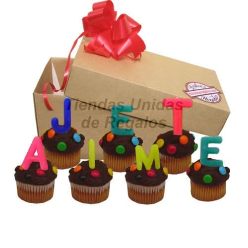 Cumpleaños Delivery | Cupcakes Jet Aime - Cod:MCM25