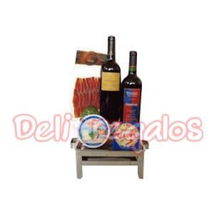 Canasta de Vinos | Canasta para Regalo Gourmet - Cod:MCN05