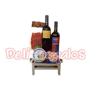 Canasta para Regalo Gourmet - Whatsapp: 980-660044