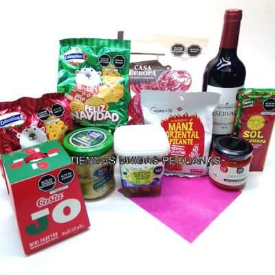 Canasta de Vinos | Canasta de Regalo Premium - Cod:MCN11