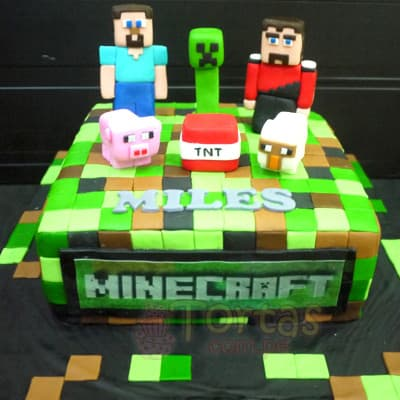 Torta tematica Mine Craft  - Cod:MCT01