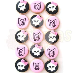 Cupcakes Monster High - Whatsapp: 980-660044