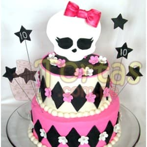 Torta Monster high - Whatsapp: 980-660044