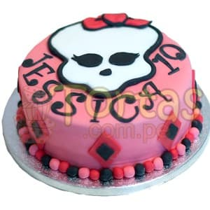 Torta de Monster high  - Cod:MHI03
