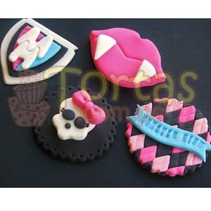 Cupcakes Monter High  | Tortas Monster High - Whatsapp: 980-660044