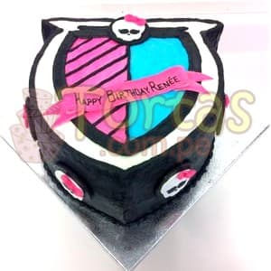Torta Escudo Monster high | Tortas Monster High - Whatsapp: 980-660044