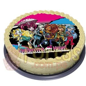 Foto-Torta Monster High - Cod:MHI06