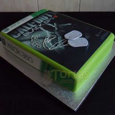 Torta Call of Duty - Cod:MIL01