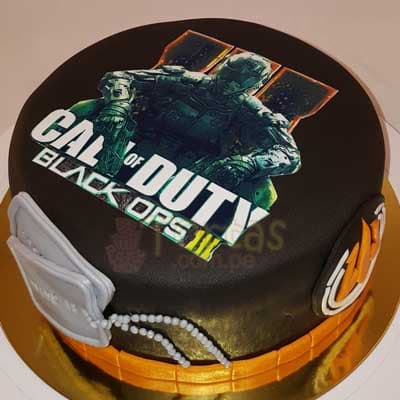 Torta Call of Duty 11 - Cod:MIL11