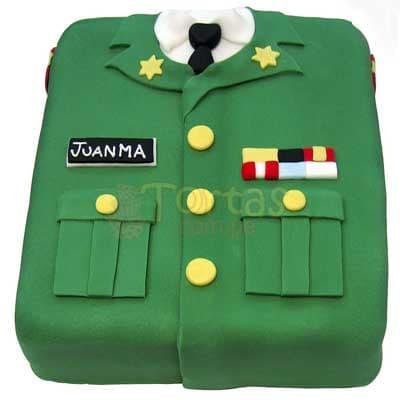 Torta de Militar - Cod:MIL13