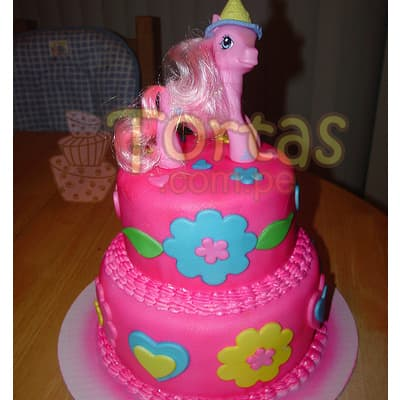 Torta de pony - Whatsapp: 980-660044