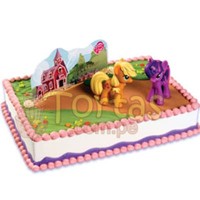 Torta de Pony little | Torta Pony - Whatsapp: 980-660044