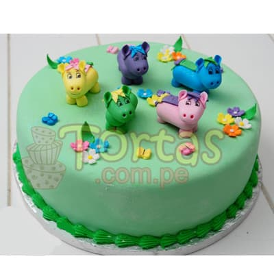 Torta Pony 07 - Whatsapp: 980-660044