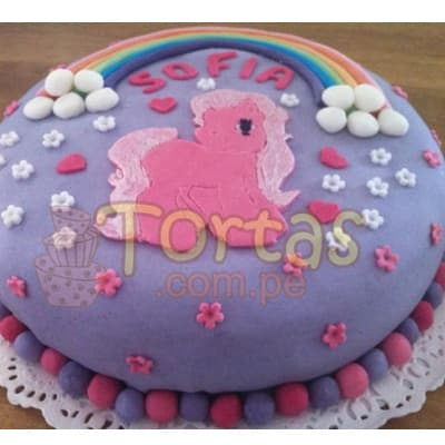 Torta Pony 08 - Whatsapp: 980-660044
