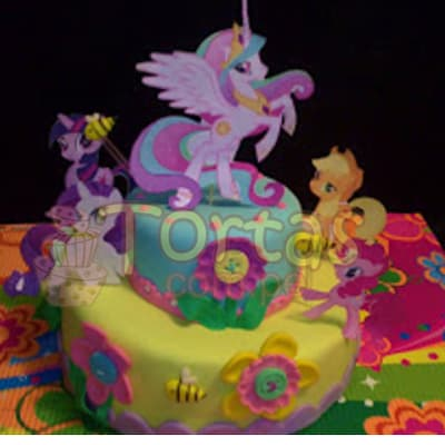 Torta Pony 09- Whatsapp: 980-660044