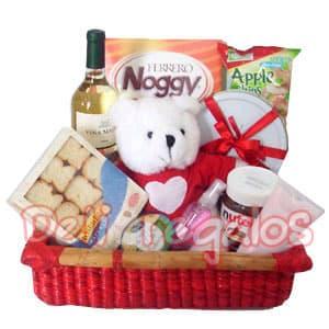 Canasta de regalo para Ella | Canastas con Regalos | Canastas de Regalo Lima - Cod:MNE10