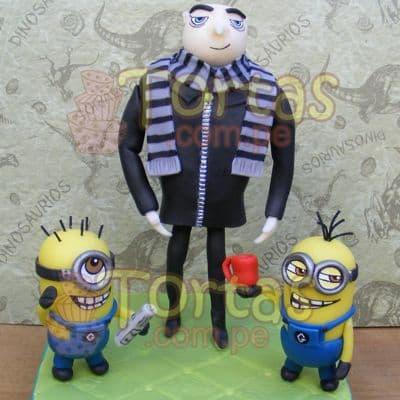Decoracion especial | Minions | Torta de minions - Cod:MVF03