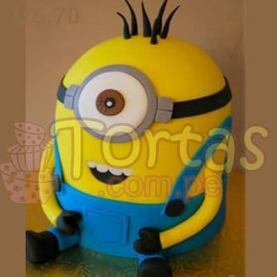 Torta de Villano 04 | Minions | Torta de minions - Whatsapp: 980-660044