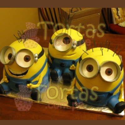 3 Tortas Mi villano | Minions | Torta de minions - Whatsapp: 980-660044