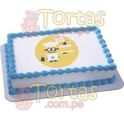 Foto torta 14 Mi Villano Favorito | Minions | Torta de minions - Whatsapp: 980-660044