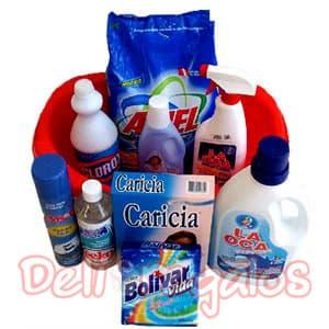 Utiles de Limpieza | Canasta de Limpieza - Cod:CNT14