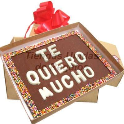 Mensajes en Chocolate | Mensajes de Chocolate a Comicilio | Chocolate - Cod:MVT01