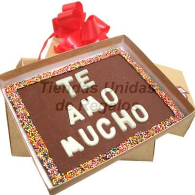 Chocolates con Frases Especiales  | Mensajes de Chocolate a Domicilio | Chocolate - Cod:MVT02