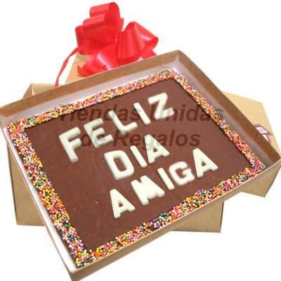 Chocolate con Mensaje por Aniversario | Mensajes de Chocolate a Comicilio | Chocolate - Cod:MVT05