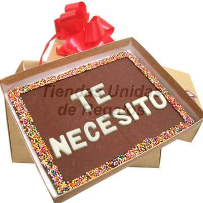 ChocoMensaje para regalar | Chocolate a domicilio | Chocolate | Delivery de Chocolate - Cod:MVT08