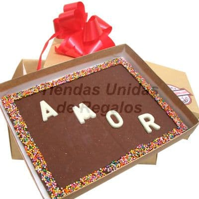 Chocolate con Dedicatoria Personalizada | Delivery Chocolates | Chocolate Peru - Cod:MVT10