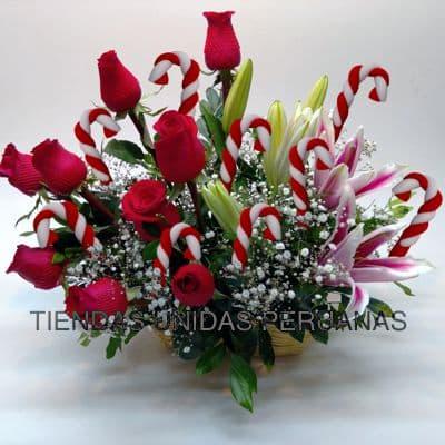 Arreglo de Rosas para Navidad - Cod:NAV04