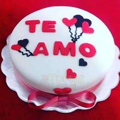 Torta para Enamorados  - Cod:NMR01