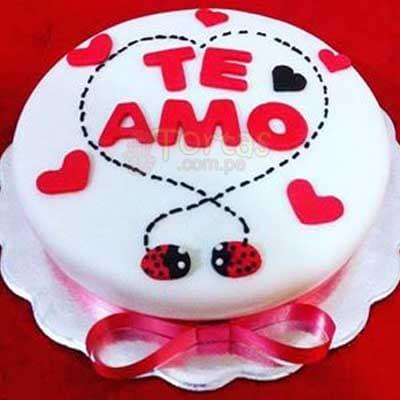 lafrutita.com- Torta Para Enamorada - Fresas con chocolate a domicilio y Arreglos Frutales - Whatsapp: 980660044