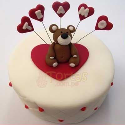 Torta de Te amo para novia | Pasteles | Pasteles de amor | Torta de amor - Whatsapp: 980-660044