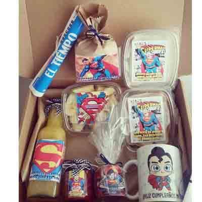 Desayunos Infantiles | Infantiles para regalar | Desayuno Superman - Cod:NOS05