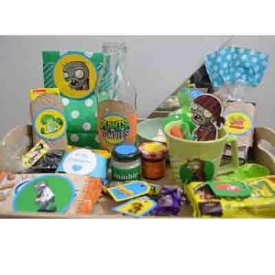 Desayunos especiales para Niños | Desayuno Zombies - Cod:NOS08